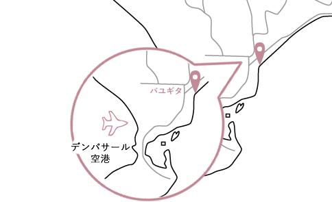 バユギタロケーションマップ