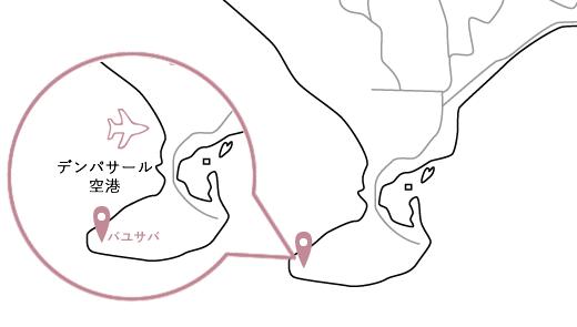 バユサバロケーションマップ