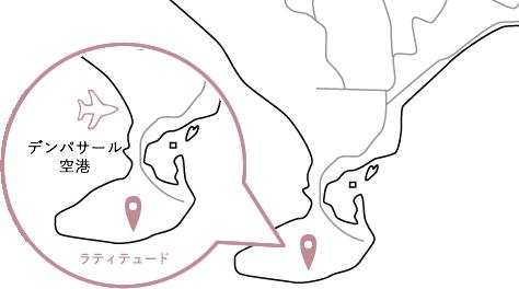 ラティテュードロケーションマップ