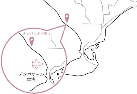 オンバックプティロケーションマップ