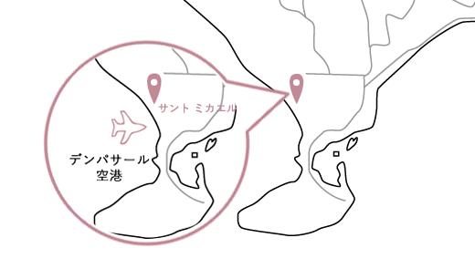 サントミカエルロケーションマップ