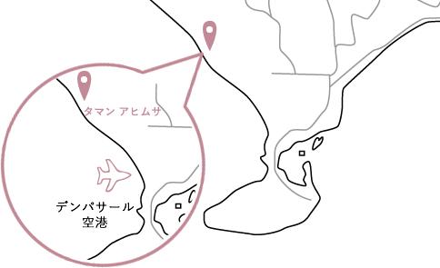 タマンアヒムサロケーションマップ