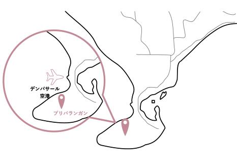バランガンロケーションマップ