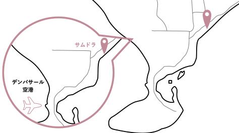 サムドラロケーションマップ